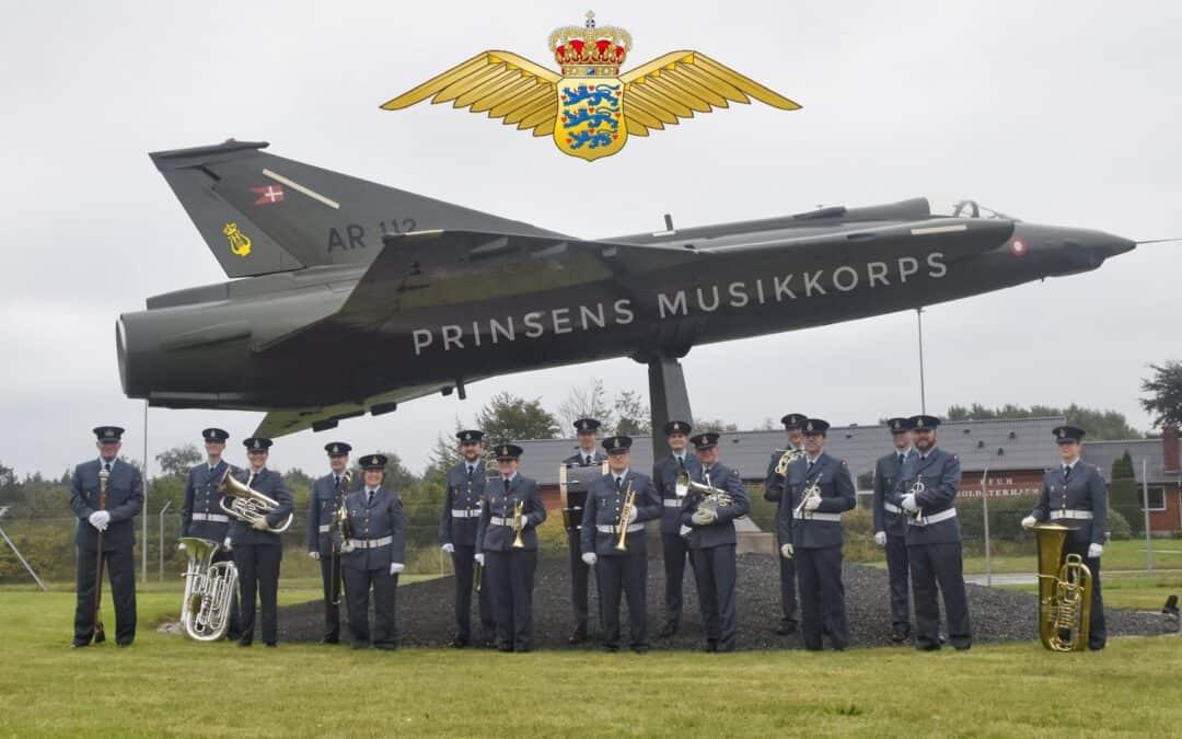 Prinsens Musikkorps overgår til Flyvevåbnet